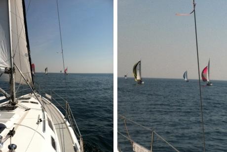 sail boats on Lake Superior
